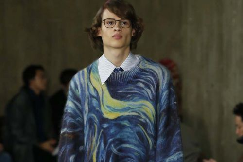 Namacheko References Vincent van Gogh and Edvard Munch for FW19
