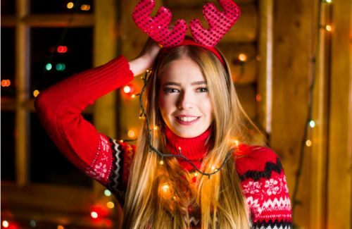 Glittery Reindeer Boobs Are The NSFW Holiday Look Of The Year