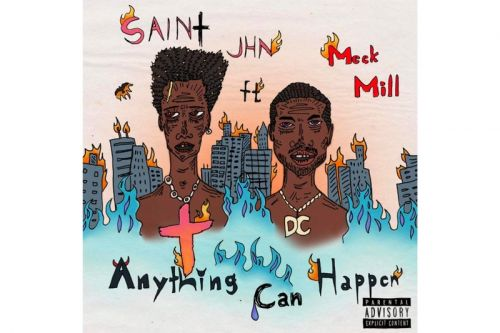 """SAINt JHN & Meek Mill Link for Introspective Single """"Anything Can Happen"""""""