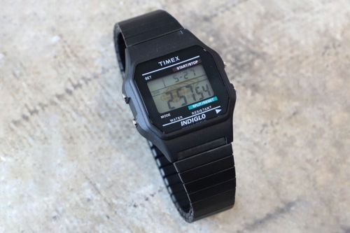 BEAMS Updates Timex's Classic Digital With Sleek Metal Bracelet