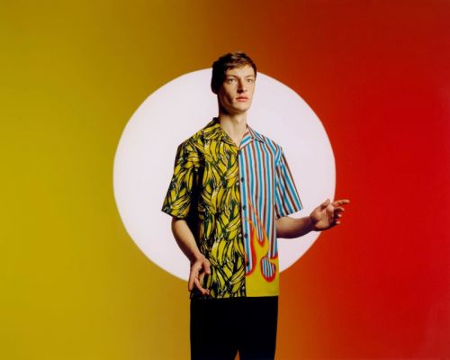 Roberto Sipos Mixes It Up in Prada Double Match Campaign