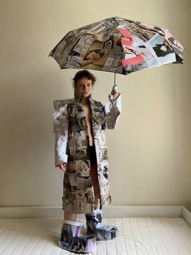 The 19-Year-Old Russian Artist Who Turned Our Magazine Into Fashion