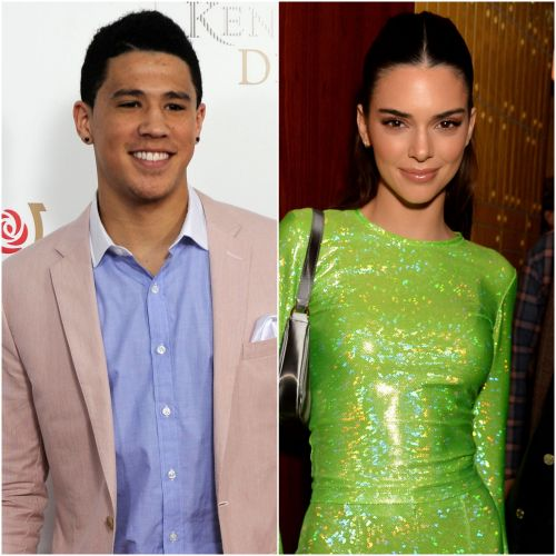 NBA Star Devin Booker Gushes Over Steamy Bikini-Clad Photo of Kendall Jenner: 'Whew'