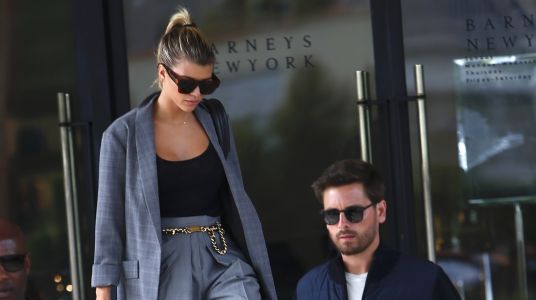 Sofia Richie and Scott Disick Go Shopping in Coordinating Outfits and It's Actually Cute AF
