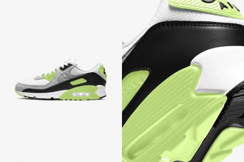 The Nike Air Max 90 Gets Hit With Murky Light-Green Accents