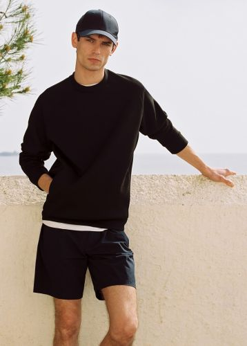 Arthur Gosse Steps Outdoors in Mango Leisure Collection
