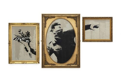 Banksy Launches Gross Domestic Product™ Online Store