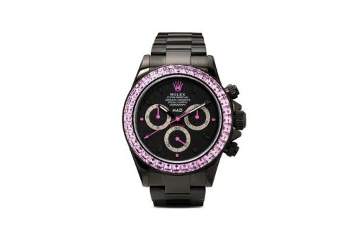 MAD Paris Delivers $82K USD Pink Sapphire-Encrusted Rolex Daytona