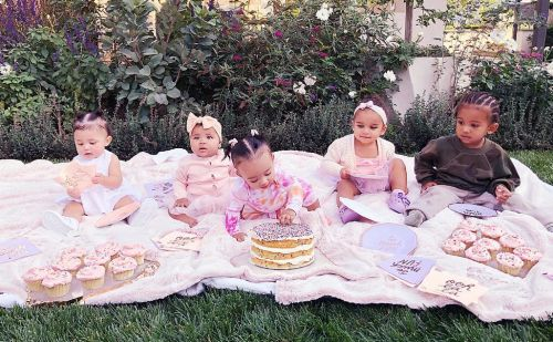 Khloé Kardashian Says Kourtney 'Forgot' To Bring Her Kiddos To The Cousin Cupcake Party