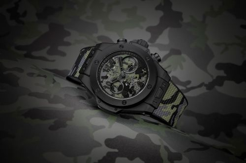 Hublot Introduces the Big Bang Camo Yohji Yamamoto