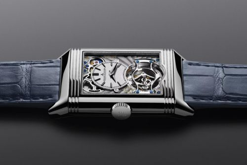 Jaeger-LeCoultre Introduces a Limited Reverso Tribute Tourbillon Duoface
