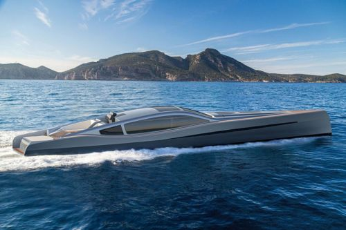 This Sleek Concept Yacht Looks Like It Jumped Out of a Bond Movie