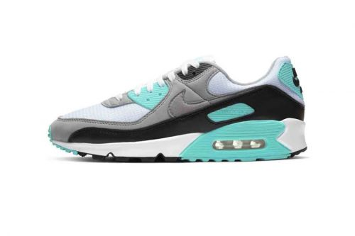 """Nike Updates Air Max 90 With Lush """"Hyper Turquoise"""" Colorway"""