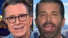 Stephen Colbert Takes Donald Trump Jr. To School Over His Latest 'Cancel Culture' Claim
