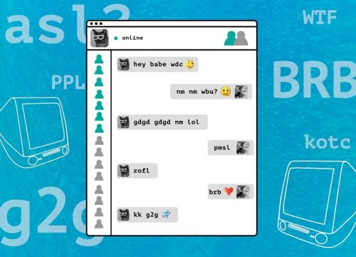 G2g, brb, and what the loss of early MSN language means