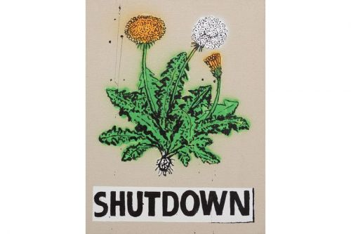 B. Thom Stevenson Unveils 'SHUTDOWN' Artwork With The Journal Gallery