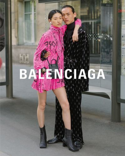 Balenciaga Celebrates Love with Fall '19 Couples Campaign