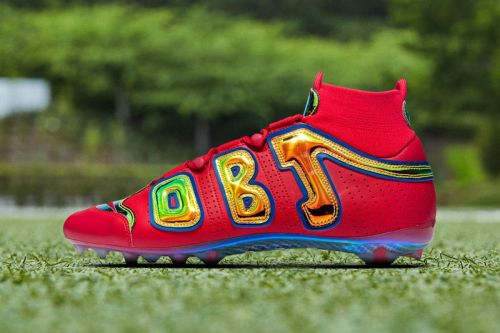 Odell Beckham Jr. Revisits the Nike More Uptempo in Latest Cleats