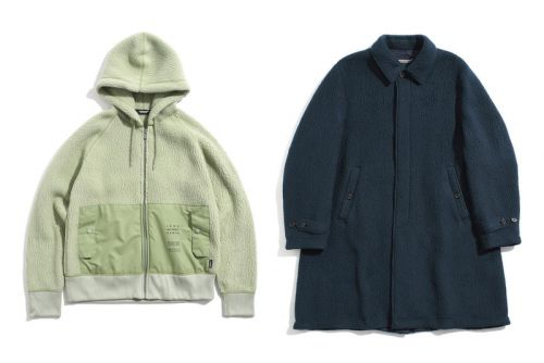 UNDERCOVER's Polartec Fleece Collection Has Arrived in Time for Winter