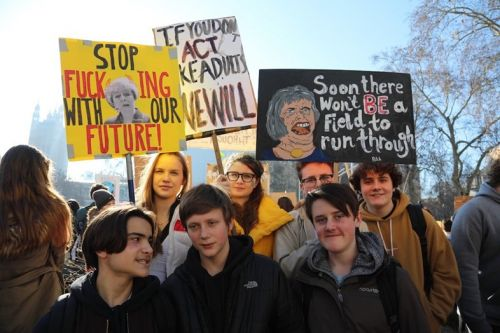 The majority of British people want faster action on climate change