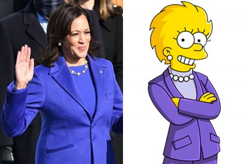 Did 'The Simpsons' predict Kamala Harris becoming Vice President?