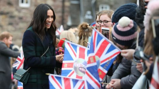 Meghan Markle Wore a Thing: Burberry Coat Edition