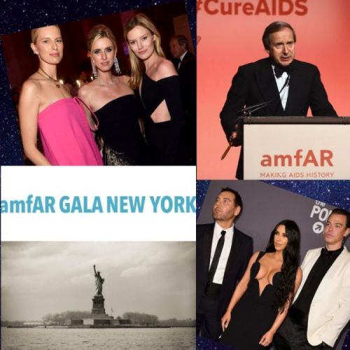 At the amFAR Gala 2019 in New York City