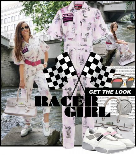 My Look: Racer Girl