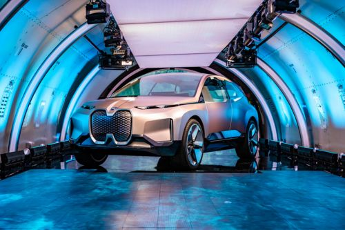 A First Look at BMW's Vision iNext Electric Concept Car