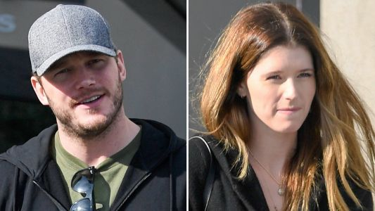 Chris Pratt And Katherine Schwarzenegger Take Chris' Son Jack To A Movie And They All Look So Cute Together