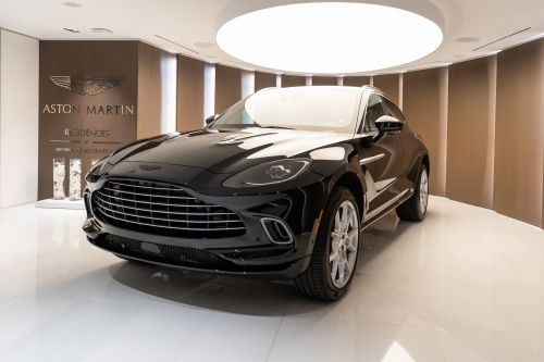 Aston Martin Residences in Miami Unveils First Aston Martin DBX in The Americas