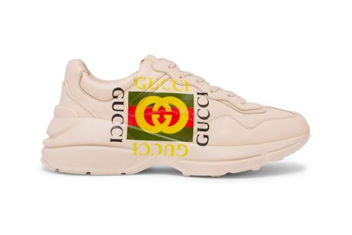 Gucci's Chunky Rhyton Sneaker Is Available Now