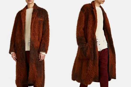 Song for the Mute's Fuzzy FW19 Topcoat Features Luxurious Textures