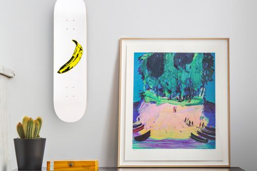 Best Art Drops: BE RBRICKs, Andy Warhol Skate Decks & More