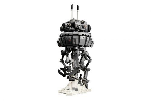 Build Your Own Imperial Probe Droid With LEGO's Newest Star Wars Collab