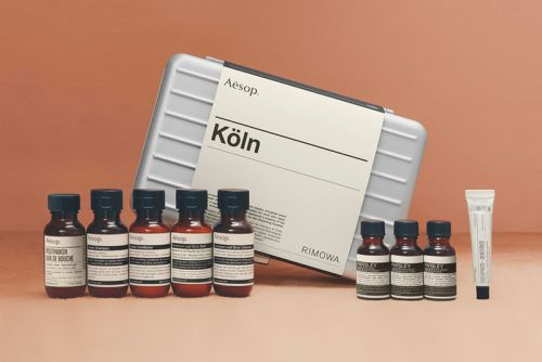 RIMOWA and Aesop Launch Limited Edition Köln Travel Kit
