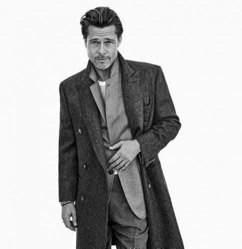 Brad Pitt Returns for Brioni Fall '20 Campaign