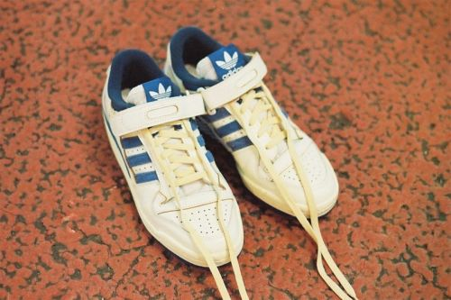 """Adidas Originals Digs In the Archives to Revive the Forum '84 Low OG """"Cloud White/Royal Blue"""""""