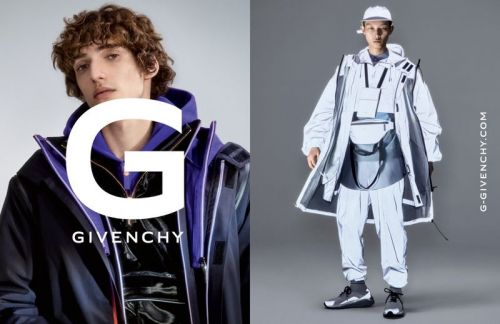 Xu Meen & Quintin Van Konkelenberg Go Sporty for G Givenchy Fall '19 Campaign