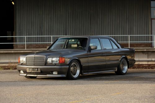 Japanese-Imported 1989 Mercedes-Benz 560 SEL AMG Hits RM Sotheby's Youngtimer Auction