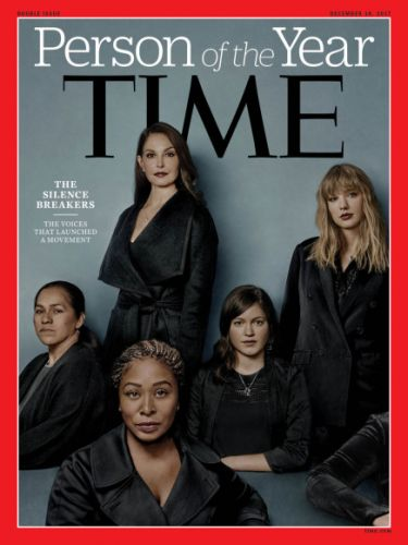 "Time names the women who broke their silence as ""Person of the Year"""