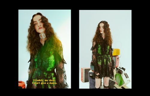 TV Times: A new 80s-inspired editorial from Chris Milo