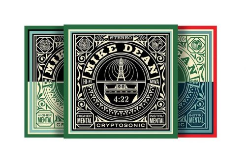 Mike Dean and Shepard Fairey Collaborate On 'OBEY 4:22' NFT Series