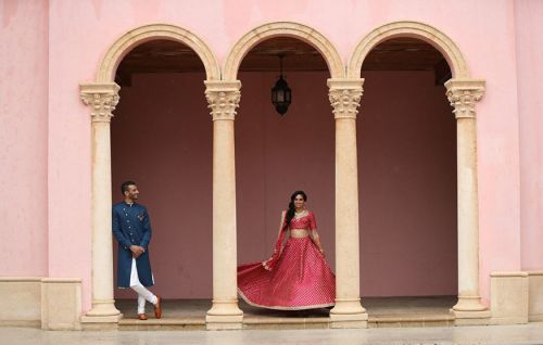 Sruthi + Karunesh Boca Raton Resort & Club, Waldorf Astoria Hotel Wedding by Jennifer J Events