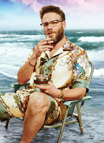 Um, Did Seth Rogen Just Become My New Style Icon?