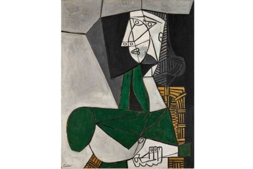 Pablo Picasso's Iconic Painting Of a Muse to Fetch Over $14 Million USD