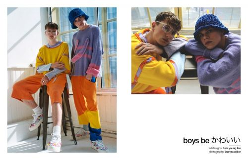 Boys be かわいい | meet designer hwa young lee