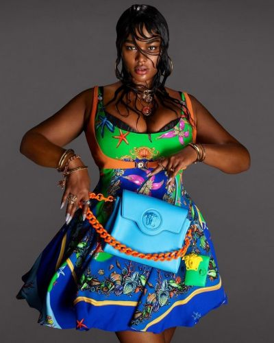 Precious Lee channels Medusa in Versace's new campaign