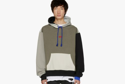 424 Designs a Colorblocked Hoodie Exclusively for SSENSE
