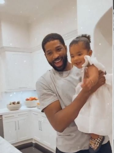 Tristan Thompson Posts Rare Video and Never-Before-Seen Photos of 'Baby True' on Her Birthday